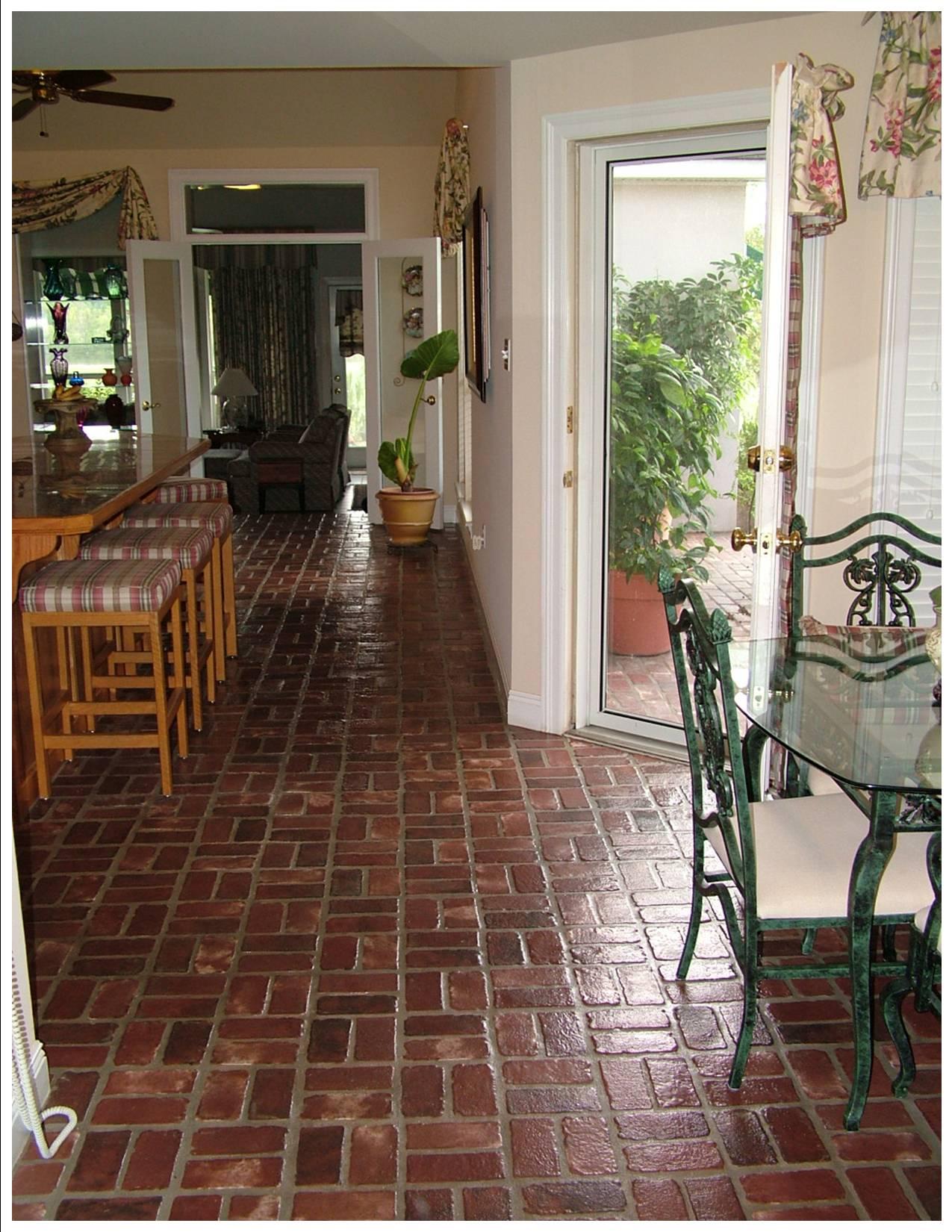 Interior Brick Flooring Pricing : Indoor brick flooring gurus floor